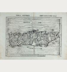 Tabula neoterica Crete sive Candie insule