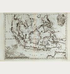 Isole dell'Indie diuise in Filippine, Molucche, e della Sonda