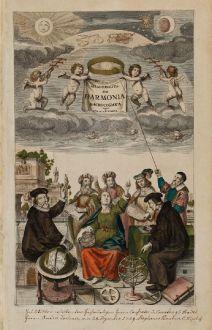 Grafiken, Cellarius, Cellarius Harmonia Macrocosmica, (1660) 1708: Atlas Coelestius: seu Harmonia Macrocosmica