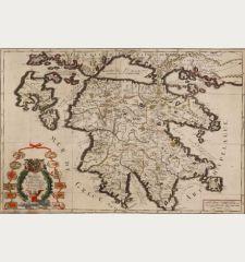 La Moree Et les Isles de Zante, Cefalonie, Ste Maure, Cerigo &c.