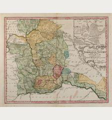 Delineatio Nordgoviae Veteris prout ejus facies Seculo XI. & XII. suit, Geographice designata per Iohannem Henricum de...