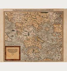 New Griechenlandt, mit andern anstossenden Ländern, wie es zu unsern zeiten beschriben ist.