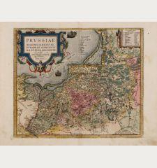 Prussiae Regionis Sarmatiae Europeae Nobiliss. Vera et Nova Descriptio...