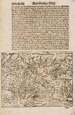 Antike Holzschnitt-Ansicht von Algier, Algerien. Gedruckt bei Heinrich Petri im Jahre 1574 in Basel.