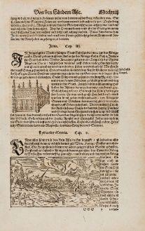 Antike Landkarten, Münster, Türkei, Lydia, Sardis, 1574: Lydia oder Meonia