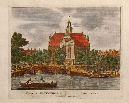 Antique Maps, Schenk, Netherlands, Amsterdam, Templum Septentrionale, 1700: Templum Septentrionale