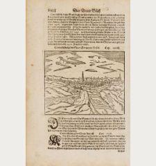 Contrafehtung der Statt Hertzogen Bosch / Mechel