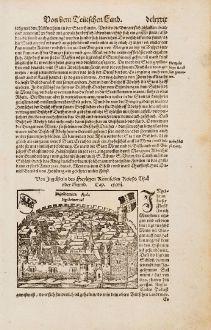 Antike Landkarten, Münster, Deutschland, Rheinland-Pfalz, Ingelheim am Rhein: Von Ingelheim des Heyligen Römischen Reichs Thal oder Grund / Ingelhemica Aula