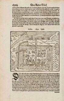 Antike Landkarten, Münster, Frankreich, Arras, Calais, 1574: Cales / Arras
