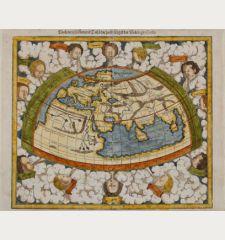 Ptolemeisch General Tafel, die halbe Kugel der Welt begreiffende
