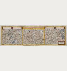 Die erst Tafel, innhaltend das Schweytzerlandt, mit den anstossenden Ländern / Die ander Tafel des Rheinstroms, begreiffend...