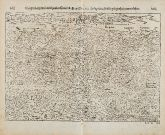 Antike Holzschnitt-Ansicht von Weißenburg, Elsass. Gedruckt bei Petri im Jahre 1574 in Basel.