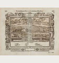 Abcontrafehtung der schönen und weitberümpten Statt Leon
