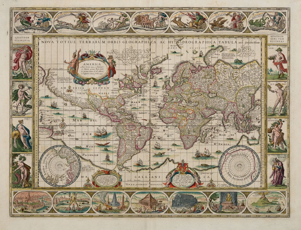 Nova Totius Terrarum Orbis Geographica Ac Hydrographica