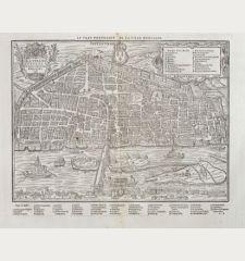 La Ville Cité et Universite d'Orleans / Le vray Pourtraict de la ville d'Orleans