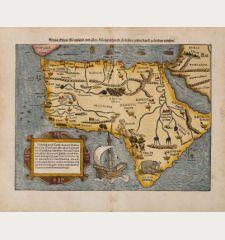 Africa Lybia Morenlandt mit Allen Künigreichen so zu unsern zeiten darin gefunden werden.