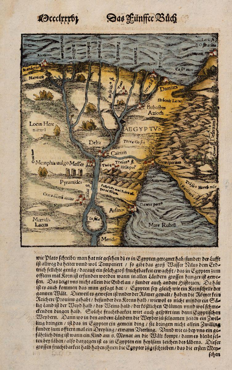 Egypt - Münster, Sebastian - [Nile River delta]