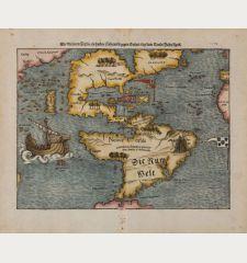 Die Neuwen Inseln / so hinder Hispanien gegen Orient / bey dem Landt Indie ligen
