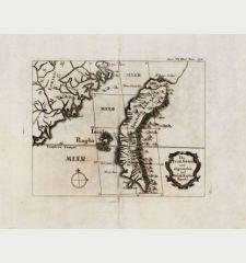 Die Insel Formosa neü abgemessen auf Befehl Kaysers Kamhi