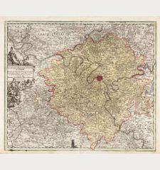 Carte de la prevoste et vicomté de Paris, dressée sur un grand nombre de mémoires particuliers assujettis aux...