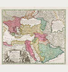 Imperium Turcicum in Europa, Asia et Africa Regiones Proprias, Tributarias, Clientelares ...