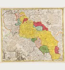 Superioris et Inferioris Ducatus Silesiae in suos XVII Minores Principatus et Dominia Divisi Nova Tabula ...