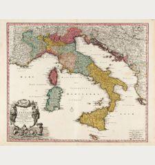 Statuum Totius Italiae Novissima Repraesentatio Geographica ...