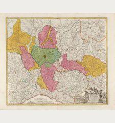 Belli Typus In Italia vicricis Aquilae progressus In Statu Mediolanensi Et Ducatu Mantuae ... Anno 1702