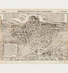 Beschreibung der Statt Wirtzburg mit sampt dem fürstlichen Schloß - Herbipolis - Wirtzburg