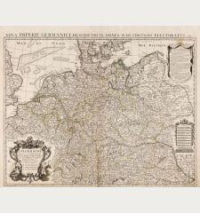 L' Allemagne, Dressee sur les Observations de Tycho-Brahe, de Kepler, de Snellius, sur celles de Messieurs de l' Academie...