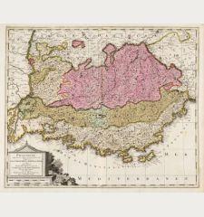 Provincia Supremarum Galliae Praefecturarum una Vulgariter Gouvernement de Provence ...