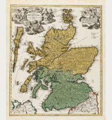 Magnae Britanniae Pars Septentrionalis qua Regnum Scotiae ...