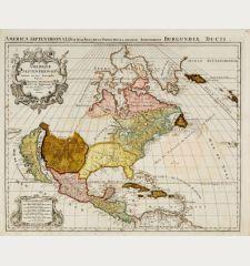 Amerique Septentrionale Divisee en Ses Principales Parties [and] L'Amerique Meridionale Divisee en Ses Principales Parties.