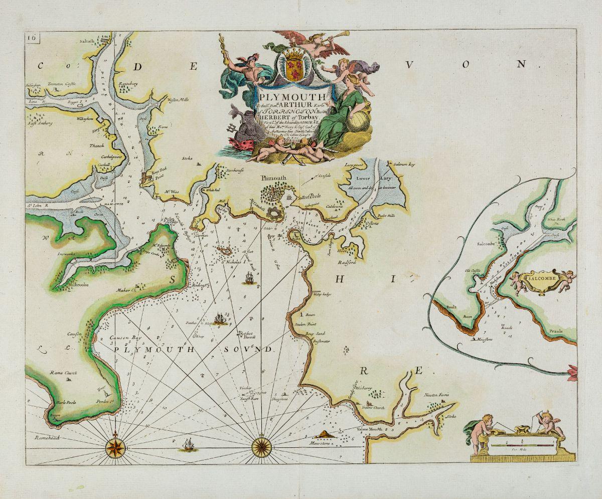Plymouth To The Rt Honble Arthur Earle Of Torrington Baron