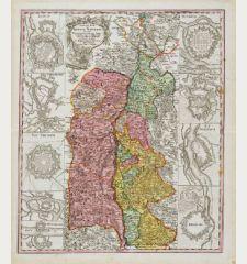 Theatrum Belli ad Rhenum superior nec non munimentorum tum Imperialium, tum Gallicorum ichnographica exhibitio ...
