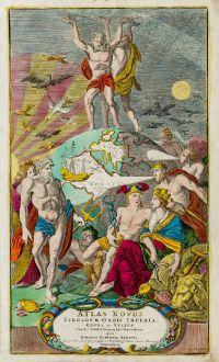 Graphics, Homann, Title Pages, 1720: Atlas novus terrarum orbis imperia regna et status exactis tabulis geographice demonstrans