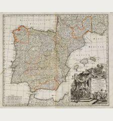 Hispania ex Archetypo Roderici Mendez Sylvae et Variis Relationibus ...