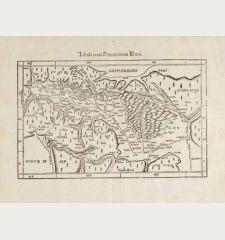Tabula nova provinciarum Rheni / [Lotharingia]