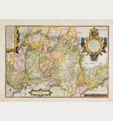 Westphaliae Totius, Finitimarumque Regionum Accurata Descriptio