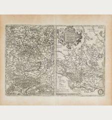 Franciae Orientalis (vulgo Franckenlant) Descriptio / Monasteriensis et Osnaburgensis Episcopatus Descriptio