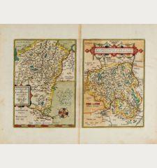 Buchaviae, sive Fuldensis Ditionis Typus / Waldeccensis Comitatus Descriptio Accuratissima