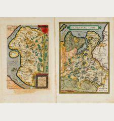 Oldenburg Comit. / Thietmarsiae, Holsaticae Regionis Partis Typus