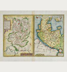 Hassiae Descriptio, Ioanne Drynadro Auctore / Holsatiae Descrip.