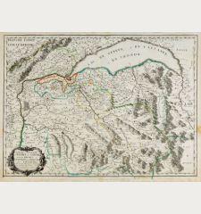 Partie septentrionale des Estats de Savoye... duches de Genevois