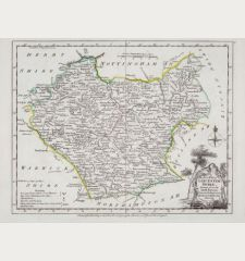 A Modern Map Of Leicestershire, Drawn From The Latest Surveys