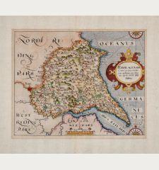 Eboracensis Comitatus pars Orientalis, vulgo East Riding