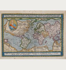 Typus Orbis Terrarum Ad Imitationem Universalis Gerhardi Mercatoris…