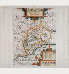 Rutlandiae, Omnium in Anglia Comitatu, um minimus Pars olim Coritanorum