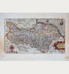 Eboracensis Comitatus pars Septentrionalis, vulgo North Riding