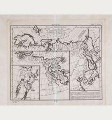 Nouvelle représentation Des Côtes Nord et Est de l'Asie : pour servir d'éclaircissement aux Articles du Supplement de...